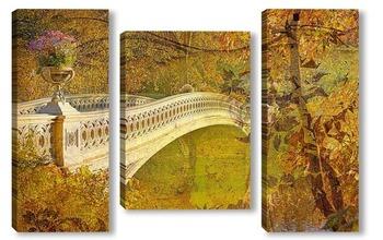 Модульная картина Осенний Манхэттен