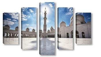 Модульная картина Мечеть шейха Зайда