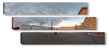 Модульная картина Дворцовая площадь, Санкт-Петербург