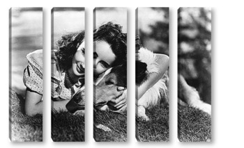 Модульная картина Elizabeth Taylor-14