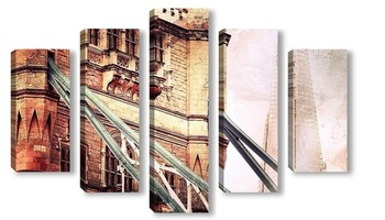 Модульная картина Лондонский Тауэр