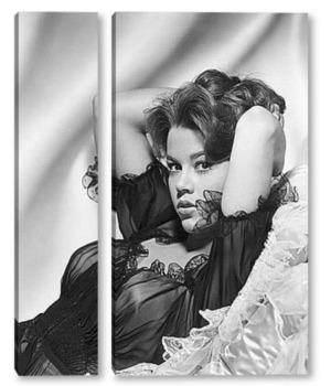 Модульная картина Джейн Фонда в знойной позе,1960-е.