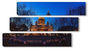 Модульная картина Исаакиевский собор, Санкт-Петербург