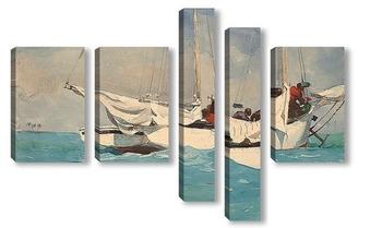 Модульная картина Ки-Уэст, 1903