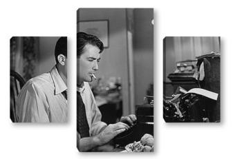 Модульная картина Gregory Peck