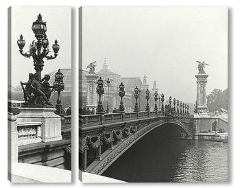 Модульная картина Мост Александра III, Париж