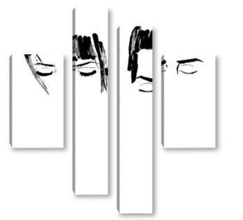 Модульная картина Eyes