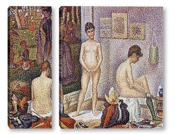 Модульная картина Seurat-7