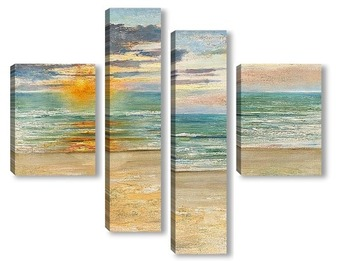 Модульная картина Французские морские пейзажи