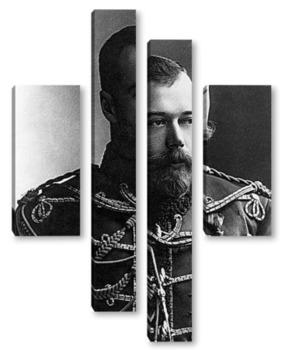 Модульная картина Николай II (3)