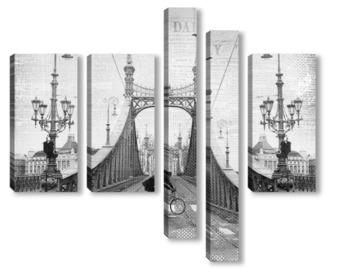 Модульная картина Мост Свободы