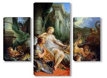 Модульная картина Ринальдо и Армида (1734)