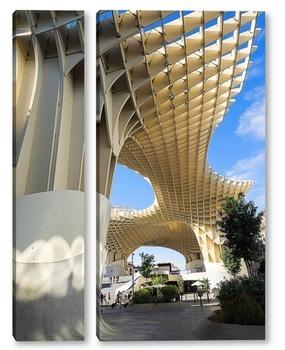 Модульная картина Metropol Parasol