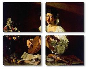 Модульная картина Caravaggio-4