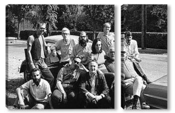 Модульная картина Allen Ginsberg-2