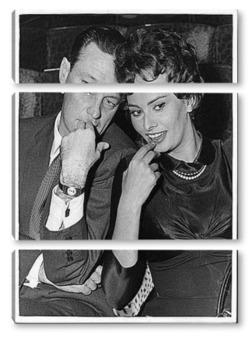 Модульная картина Sophia Loren-11