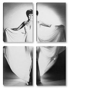 Модульная картина Diahann Carroll-2