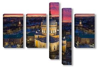 Модульная картина Троицкий собор Александро-Невской лавры