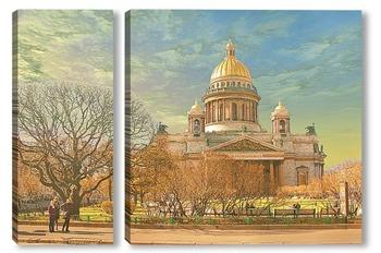 Модульная картина Санкт-Петербург, Исакиевский собор.