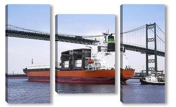 Модульная картина Ship-001