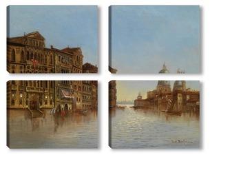 Модульная картина Вид Венеции с Santa Maria della Salute.
