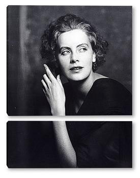 Модульная картина Портрет Грета Гарбо