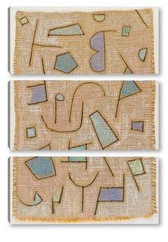 Модульная картина Суховатая поэма