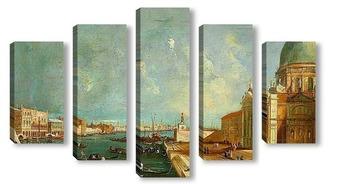 Модульная картина Вход в Большой канал, Венеция