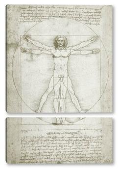 Модульная картина Leonardo da Vinci-26