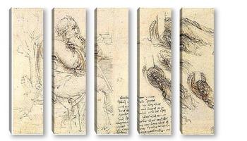 Модульная картина Leonardo da Vinci-16