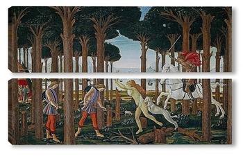 Модульная картина История Настаджио дельи Онести (I)