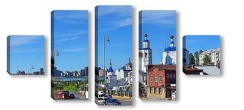 Модульная картина Казань