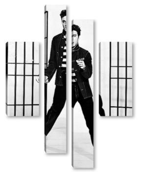 Модульная картина Элвис Пресли
