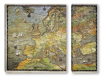Модульная картина Европа_17
