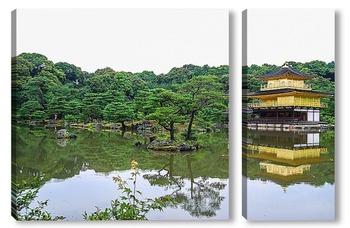 Модульная картина Киото, Золотой павильон