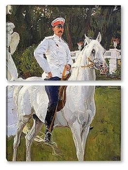 Модульная картина Портрет князя Феликса Юсупова, графа Сумарокова-Эльстона