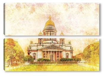 Модульная картина Исаакиевский собор