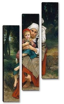 Модульная картина Картина художника 19 века