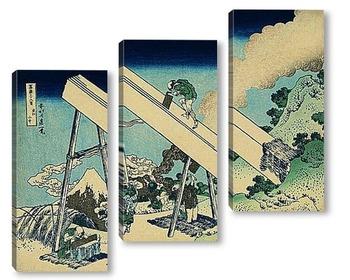 Модульная картина Hokusai_4