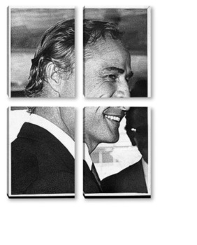 Модульная картина  Marlon Brando-6-1