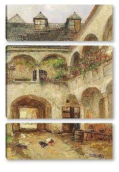 Модульная картина Усадьба Тейсенхофер в Белой Церкви