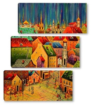Модульная картина Старая площадь