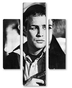 Модульная картина Актёр Марлон Брандо.