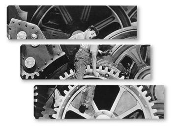Модульная картина Charlie Chaplin-02-1
