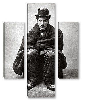 Модульная картина Чарли Чаплин 1920г.