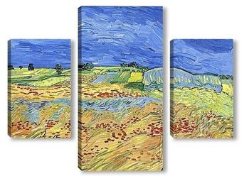 Модульная картина Пшеничное поле