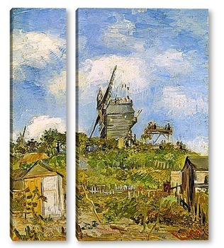 Модульная картина Ле Мулен де ла Галле, 1886 03