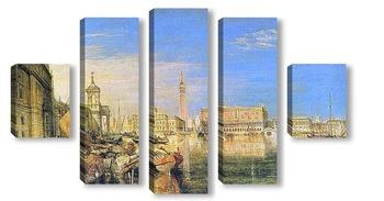 Модульная картина Мост Символов