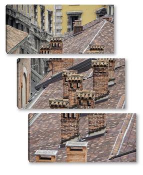 Крыши Милана.