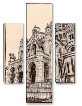 Модульная картина La Basilique du Sacre Coeur